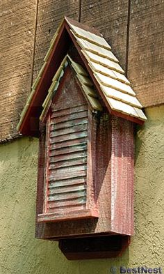 Bat House-one bat eats its weight each night in insects. Natural pest control!