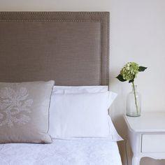 Studded Upholstered Bedhead - Custom Made - All Sizes