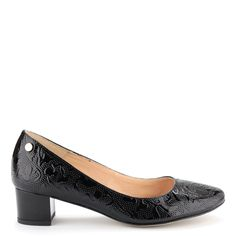 Prestige női cipő - Fekete lakk kis sarkú női cipő | ChiX.hu cipő webáruház - http://chix.hu