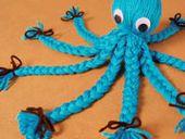 Yarn Octopus-I had a purple one when I was little.  I wish I still had it!  i loved it soooo much!!