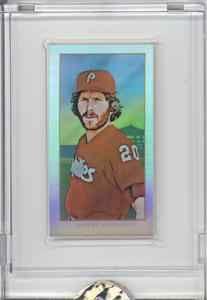 2010 eTopps in Hand T 206 Tribute Mike Schmidt Philadelphia Phillies HOF D 749 | eBay