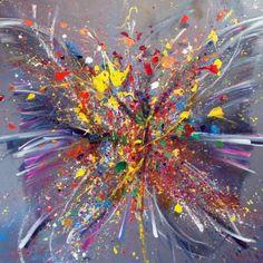 Abstract Art, Artwork, Art Paintings, Inspiration, Color, Image, November, Artists, Crochet