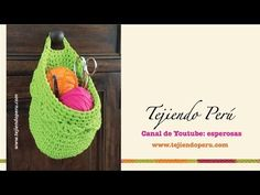 This video is a detailed step by step tutorial on how to crochet a chunky crochet hanging storage basket. This pattern is suitable for beginners. For my bask. Crochet Basket Pattern, Knit Basket, Chunky Crochet, Knit Crochet, Crochet Storage, Hanging Baskets, Hanging Storage, T Shirt Yarn, Crochet Home