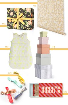{01. floral wrapping paper by Rifle Paper Co.