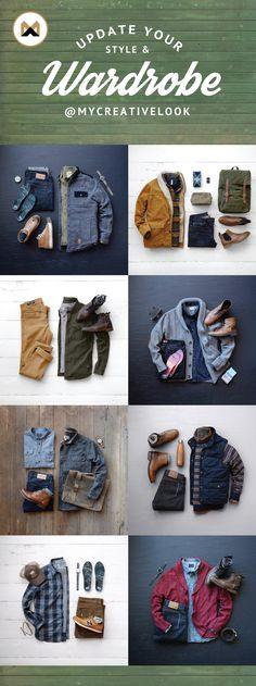 Update Your Style & Wardrobe by checking out Men's collections from MyCreativeLook   Casual Wear   Outfits   Fall Fashion   Boots, Sneakers and more. Visit mycreativelook.com/ #wardrobe #mensfashion #mensstyle #grid #clothinggrids
