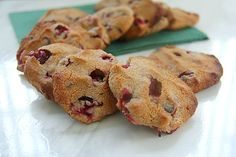 Cranberry Chocolate Chip Cookies - Divalicious Recipes