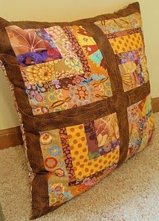 bento box quilted pillow 2010