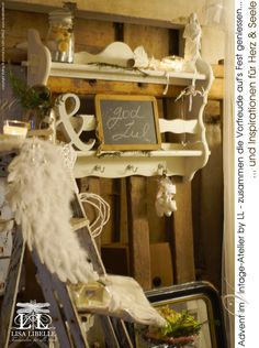 LISA LIBELLE - Annalisa Colaianni Evangelisti: Advent im Vintage-Atelier by LL - ich freue mich a...