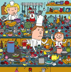 Cooking and kitchen utensils? Spanish Classroom, Teaching Spanish, Teaching English, English Games, English Fun, Hidden Pictures, Creative Pictures, Story Sequencing, Vocabulary Practice