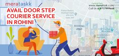 Door step courier service in Delhi by Meratask Local Delivery Service, Door Steps, Courier Service, E Day, Packers And Movers, Police Station, Doors, Gate