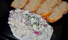 Ředkvičkový salát s mozzarelou