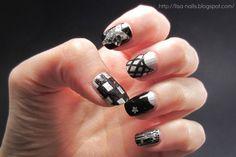 NU'EST's Ren nails in Face