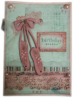 Handmade Dance Themed Teacher Thank You Card My Cards And Crafts Pinterest Teacher