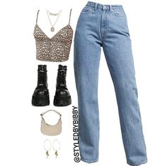 Teen Fashion Outfits, Kpop Outfits, Edgy Outfits, Outfits For Teens, Summer Outfits, Polyvore Outfits, Jugend Mode Outfits, Cute Comfy Outfits, Thrift Fashion