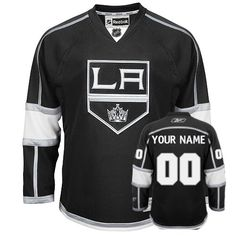 1d5ec487607 Kings Third Personalized Authentic Black NHL Jersey (S-3XL) Custom Hockey  Jerseys