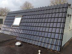 zonnepanelen in dakpan rood - Google zoeken