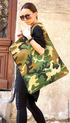 Женские сумки ручной работы. Ярмарка Мастеров - ручная работа Сумка Camouflage. Handmade.