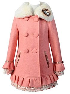 Vikoros Girls Winter Faux Wool Collar Coats Warm Jacket Long Outerwear Parka Overcoat Vikoros http://www.amazon.com/dp/B00O0KGFB4/ref=cm_sw_r_pi_dp_gCoIub0P615WG