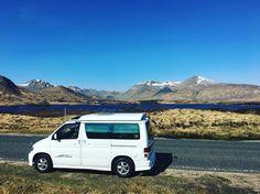 Weekend away touring #Scotland #Highlands #MazdaBongo #CampervanLife #VanTravels #Freedom #HomeIsWhereYouParkIt by pam5olo