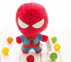 The Avengers Captain America Iron Man Spiderman Hulk Thor Plush Toys Kawaii Stuffed Soft Toys Superhero Plush Dolls Peluches Thanos Hulk, Iron Man Spiderman, Movie Characters, Plush Dolls, Plushies, Thor, Captain America, Kids Toys, Avengers