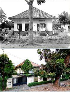 Huis van Waeterschoodt aan Manggarai, Meester Cornelis te Batavia, circa 1930, ,., Rumah di jl Manggarai Utara 1, Jakarta, 2015