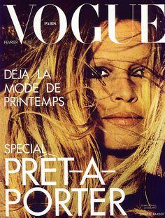 Vogue Paris February 1973 - Brigitte Bardot