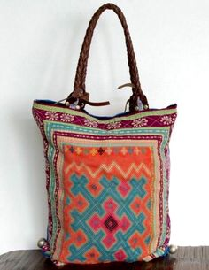 Bucket list - Be different and buy a colourful bag :)