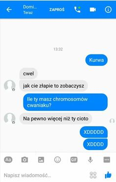 Funny Sms, Funny Text Messages, Wtf Funny, Funny Texts, Polish Memes, Funny Conversations, School Memes, Funny Clips, Laughing So Hard
