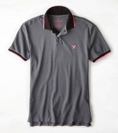 Grey Branch AEO Tipped Polo