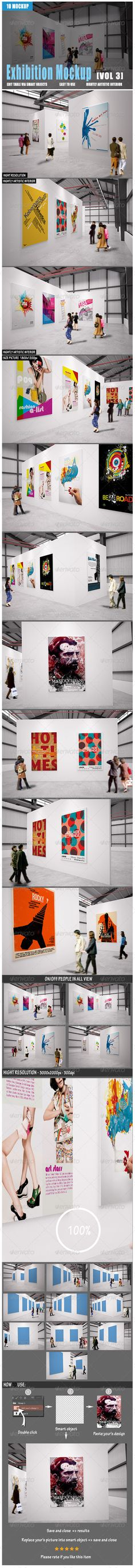 Exhibition Mockup | Download: http://graphicriver.net/item/exhibition-mockup-vol3/8526704?ref=ksioks