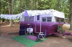 149 Vintage Camper Trailer Makeover and Remodel - Homearchitectur Vintage Campers Trailers, Retro Campers, Vintage Caravans, Camper Trailers, Vintage Motorhome, Rv Trailer, Vintage Airstream, Rv Campers, Camper Caravan