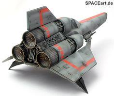 Battlestar Galactica Colonial Viper Model Kit from Monogram (1978)