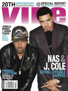 VIBE Summer 2013 Cover: J. Cole And Nas