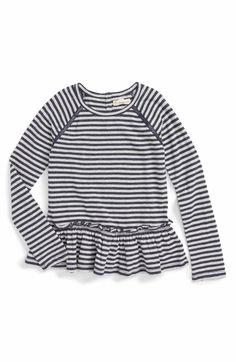 Main Image - Tucker + Tate Sparkle Stripe Top (Toddler Girls, Little Girls & Big Girls)
