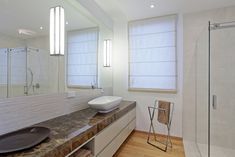 Privatus gyvenamasis  Nr. 191  2016 - interjeras.lt Roman Curtains, Alcove, Bathtub, Bathroom, Roman Blinds, Standing Bath, Washroom, Roman Shades, Bathtubs