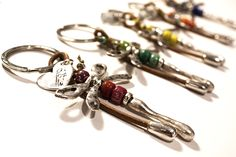 Bobby Pins, Hair Accessories, Personalized Items, Facebook, Silver Bathroom, Key Rings, Leather, Crystals, Blue Nails