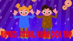 Barnsånger på svenska | Huvud axlar knä och tå med mera