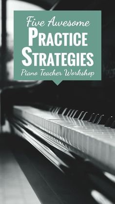 How you can enjoy teaching more and stop nagging students to play slower... http://colourfulkeys.ie/5-awesome-practice-strategies-teach-piano-students/ #EasyPianoLessons