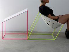 Diseño Industrial: Cómoda silla por William Lee