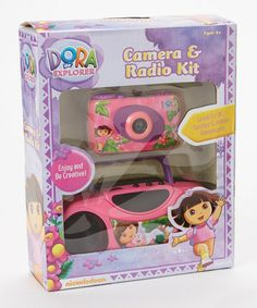 Take a look at this Dora Camera & Radio Set by Dora the Explorer on #zulily today!
