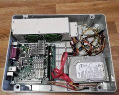 A secret project i'm working on. Anybody has a guess? #Arduino #RaspberryPi #Computer #HDD #HardDrive #miniITX #miniITXbuild #MotherBoard #250W #PowerSupply #SATA #RAM #Intel #Celeron #Linux #Ubuntu #Network #Internet #Silent #PassiveCooling #DIY #project #Modded #SprayPainted #CustomCase #electronics by eepblog