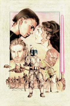 Attack of the Clones by ~BenCurtis on deviantART