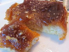 Creme Brulee French Toast!  And it is a make ahead, overnight dish!  Perfect for Christmas morning.