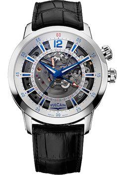 Vulcain Anniversary Heart Steel #bremont Swiss Watchmakers  #horlogerie #vulcain @calibrelondon