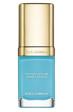 Dolce&Gabbana Beauty 'The Nail Lacquer' Liquid Nail Lacquer in Light Blue