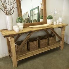 #therubyorchard Save Instagram Photos, Crates, Entryway Tables, Baskets, Wood, Furniture, Home Decor, Decoration Home, Woodwind Instrument