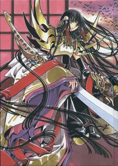 Amaterasu is the Shinto sun goddess and the mythical ancestress of the royal family of Japan. In Tsubasa Reservoir Chronicle though, she is the Empress of Nihon and is Tomoyo's older sister as well.