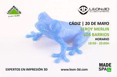 Taller de impresión 3D Leroy Merlin Los Barrios (Cádiz)