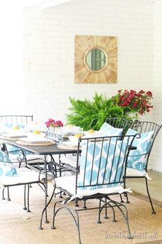 I love looking back at our 2014 summer home tour just to see how much has changed and to see what spaces our family has grown to love and use most! See the full tour and get a sneak preview at where we spend most all our time during the summer - the back patio!
