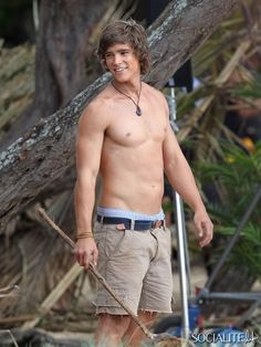 Brenton Thwaites. Wouldn't mind being stranded on an island with him!